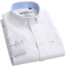 Buy 2018 New High Cotton Polyester Men Shirts Business Casual Shirts Luxury Brand Oxford Men Dress Shirts Plus Size 6XL for $14.99 in AliExpress store