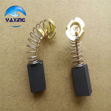 Motor Carbon Brushes For power MACHINE 6x10x15mm Best Price Pair(China)