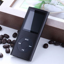 "New 4TH Music Video Mp3 Mp4 Player with 2GB 4GB 8GB 16GB 32GB SD TF Card 1.8""LCD MP4 player Video Radio FM Player(China)"