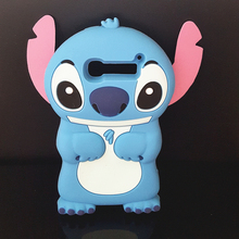 Cute 3D Cartoon Stich Soft Silicone Back Cover Lilo Stitch Case Alcatel One Touch Pop C5 5036 OT5036 5036D - International Fashion Goods Stores store