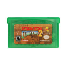 Nintendo GBA Video Game Cartridge Console Card Donkey Kong Country 2 English Language Version(China)