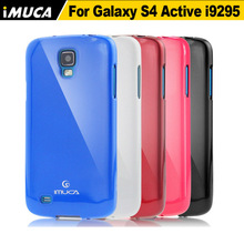 Original brand IMUCA luxury soft silicon tpu back case for Samsung Galaxy S4 Active i9295 phone cases(China)