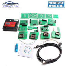 Newest Xprog-m V5.55 ECU Chip Tunning Programmer X Prog M Box 5.55 X PROG-M Better Than 5.50 Xprog m XprogM