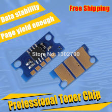1SET TNP22 K C MY toner cartridge chip for Konica Minolta Bizhub C35 Develop ineo+ 35 35P color laser copier powder refill reset