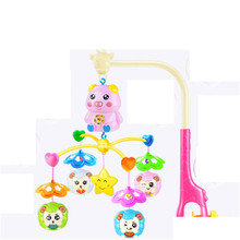Baby Music Toys Electronic Bed Wind Bell Plastic Rattles 0-12 Months Aneis Gift Musical Instruments Baby Boy Toys Animal 703064
