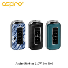 Buy New Electronic Cigarette Aspire Skystar 210W Mod Touch Screen Skystar Revvo Box MOD Vape Powered 18650 Battery Vaporizer Vape for $55.00 in AliExpress store