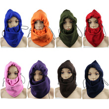 Motorcycle Fleece Neck Cold Winter Full Face Outdoor Mask Cover Hat Cap