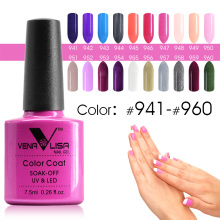 #61508 Venalisa UV&LED Color Gel 7.5ml Fast Dry Long-Lasting Soak Off Gel Nail Polish 941~960