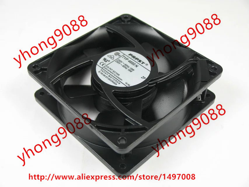 Free Shipping For ebmpapst TYP 4650 N 4650N AC 230V 19W 120x120x38mm Server Square  Fan<br>