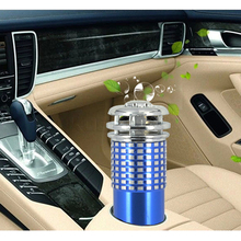 Portable Mini Vehicle Car Air Purifiers DC12V Auto Car Fresh Air Anion Ionic Purifier Oxygen Bar Ozone Ionizer Cleaner Fresher(China)