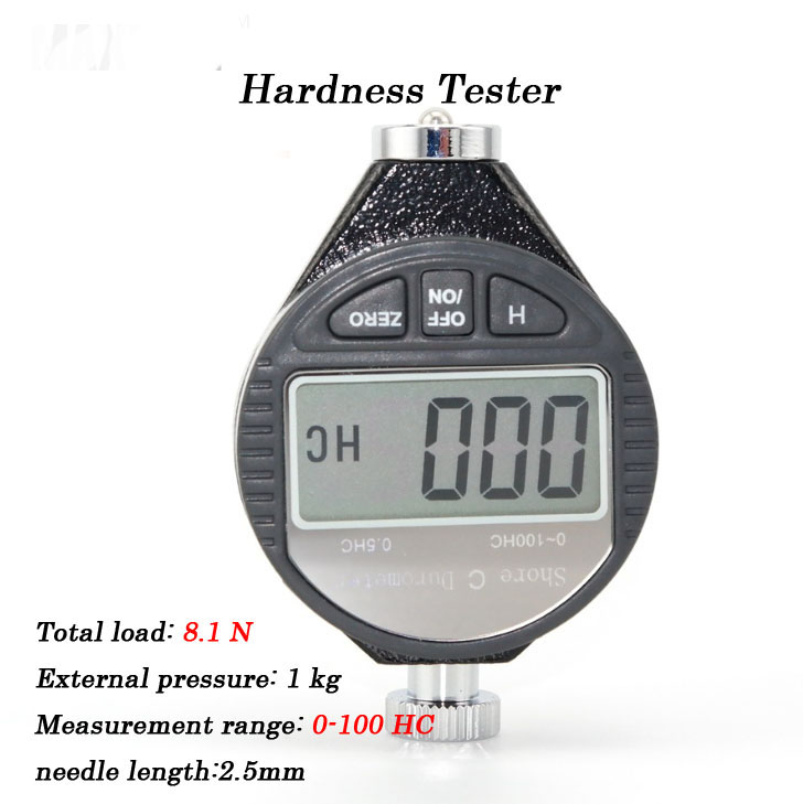 C Type 0-100HC with Data Output Interface High Quality Rubber Shore Durometer Digital Precise Hardness Tester Digital Hardmeter<br><br>Aliexpress