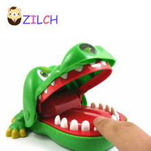 2017 Hot!!! Family Game Crocodile Dentist Toy Challenge Game So Funny Awesome Gift For Kids Children(China)
