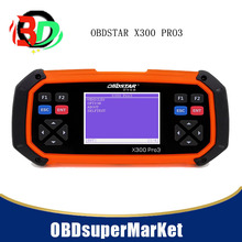 OBDSTAR X300 PRO3 X-300 Key Master with Immobiliser + Odometer Adjustment +EEPROM/PIC+OBDII full version X300 PRO3(China)