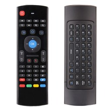 New 2.4G Wireless Remote Control Keyboard Mouse with USB Receiver For Android TV Box Smart TV Promotion