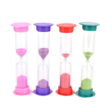 Multi-Functional Practical 1minutes/2minutes / 3minutes/10minutes Colorful Hourglass Sandglass Sand Clock Timers Desktop Clock