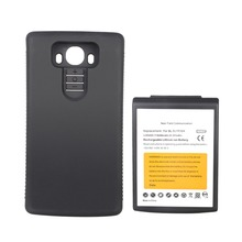 GOLDFOX High Capacity 8200mAh Replacement Extended Battery For LG G4 BL-51YF With Black Protective Case(China)