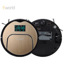 Eworld New Design M883 Robot Aspirador Vacuum Cleaner 12 Sets Senser Automatic Auto Robotic Sweeper House Floor Cleaning Machine