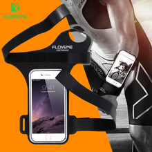 "FLOVEME 5.5"" Fashion Cycling Riding Sport Gym Armband Bag Case For iPhone 6 6S Plus 7 Plus Running Phone Pouch"