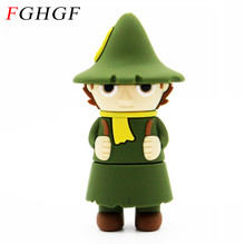 FGHGF The Little Prince model usb flash drive cute boy pendrive 4GB 8GB 16GB 32GB memory stick usb creative U disk(China)