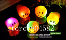 Light Up Toys Christmas Led Flashing Rings Finger Lights Smile Face Party Bar Toy Holiday Fesative Supplies 500pcs/lot T5(China)
