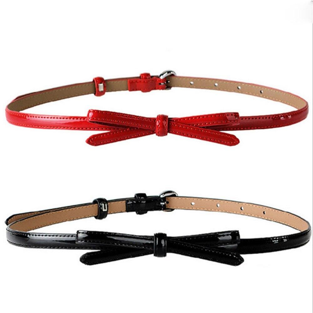 105cm Red Bowknot Women