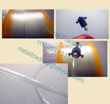 transparent diesel pipe soft tube used for diesel collector for common rail diesel test bench