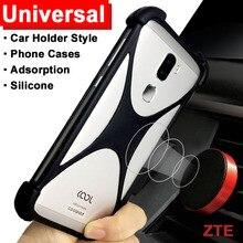 ZTE Nubia Red Magic/N3/V18/Z18 mini case Adsorption Car Holder case ZTE Blade A530 cover Universal Soft TPU