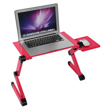 Computer Desk Portable Laptop Table Adjustable Standing Desk Computer Notebook Stand On Bed Office Mesa Notebook Desks(Hong Kong)