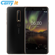 2018 Nokia 6 Second generation 2th TA-1054 4G 32G 64G Android 8 Snapdragon 630 Octa core 5.5'' FHD 16.0MP 3000mAh Mobile phone(China)