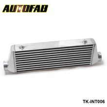 "AUTOFAB-Universal Turbo Intercooler 500x180x65mm Front Mount For Honda Civic Integra Saab 2.5"" Inlet & Oulet AF-INT006"