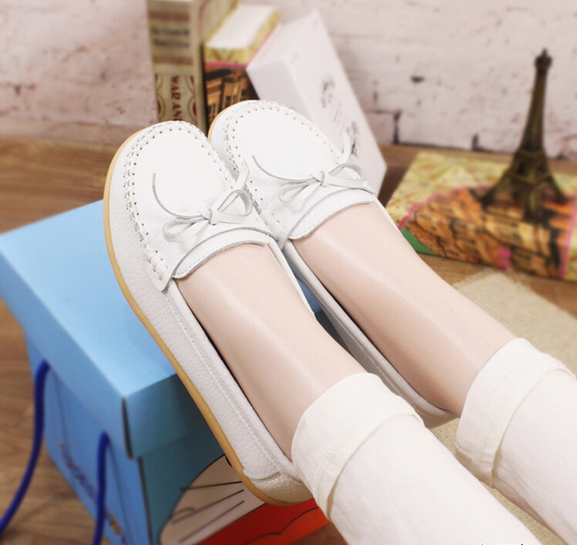 2017 language AMF-1186 small deer shoes wholesale leather elderly mother big yards shoes non-skid doug RED shoes size 35-41<br><br>Aliexpress