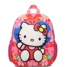 Cute High Quality Nylon Cute Hello Kitty Backpacks Gift For Children Plush Cartoon School Bag For Kid Women Girl Bag