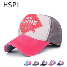 HSPL Baseball Snap Backs Baseball Cap Golf Hats Fashion High Quality Unisex Women Men Sports Camping Hat Summer Letter Printed