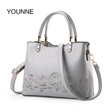 Buy YOUNNE 2018 Women Fashion Handbag Female Floral Pattern Bag Simple Style Shoulder Bags Lady Solid Color Zipper Tote Bags Handbag for $18.90 in AliExpress store