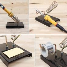 New Arrival Practical Durable Soldering Iron Frame Metal Support Stand Holder Base Welding tools(China)
