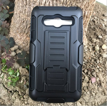 3 in 1 Combo Military Phone Cases for Samsung galaxy Core 2 case Belt Clip Holster Armor for Samsung G355H Shockproof Hard Case