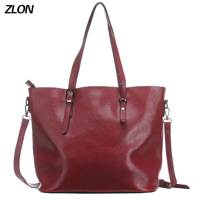 ZLON Hot Sale Women Casual High Capacity Tote Bag Female High Quality Soft Genuine Leather Ladies Crossbody Bag 3 Colors N105<br>