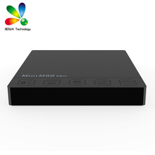 DHL 10pcs Mini M8S PRO Amlogic S912 Octa Core Cortex A53 TV Box 2GB 16GB Smart TV Box Set top box(China)