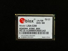 JINYUSHI for u-blox LISA-C200 CDMA 1xRTT Dual band module for Sprint / Verizon / Aeris BC0 BC1 SMT package free shipping