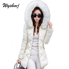 WYSHMJ Winter Jacket Women Hot 2017 New Park Long Female Jacket Thick Coat High Quality Warm Women's Winter Coats WH213