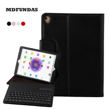 A Keyboard For A Computer For Ipad Pro 10.5 2017 Case Lichi PU Leather Tablet Protection Cover For Ipad Keyboard MDFUNDAS