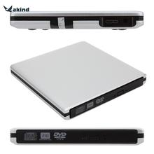 USB 3.0 CD DVD Burner Writer External Optical DVD Drive SATA Exteranal ODD/HDD Device for Mac Laptop Netbook