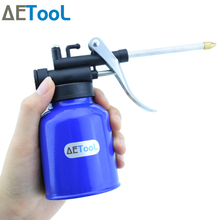 Buy AETool Spray Gun Pot 250ml High Pressure Pump Action Oiler Lubrication Feed Oil Can