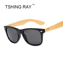 TSHING RAY Fashion Men Banboo Sunglasses 2016 Retro Women Wooden Sun Glasses Original Wood Handwork Sunglasses For Women UV400