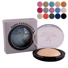 Miss Rose Single Color Baked Eyeshadow Palette Shimmer Metallic Pearl Color Eye Shadow Roast Powder Makeup Palette RP3