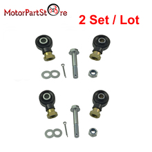 2 Set Tie Rod End Kit for Polaris Sportsman 500 HO 2006-2012 ATV Quad Dirt Motor Pit Bike