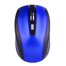 Mini Wireless Mouse Portable 2.4G Wireless Optical Mouse Mice For Computer PC Laptop Gamer High Quality Free Shipping # 20