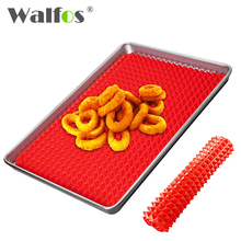 WALFOS food grade Pyramid Bakeware Pan Nonstick Silicone Baking Mat Pads Easy Method for Oven Baking Tray Sheet Kitchen Tools