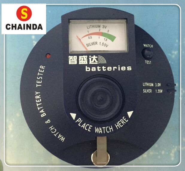 Free Shipping 1pc Chainda Watch and Watch Battery Tester Analyzer 1.5v and 3v BWT-94<br>