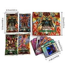 216pcs/lot Anime Yugioh Game English Cards Toys Yu Gi Oh Collection Trading Cards Toys for Children Playing Games Christmas Gift(China)